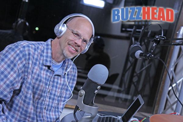 Curtis Tucker with BuzzHead Radio